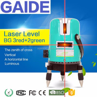 BG 3red+2green only real laser level 360 cross line is NO.01