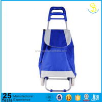 Rolling shopping trolley cart, folding shopping cart, disabled shopping cart