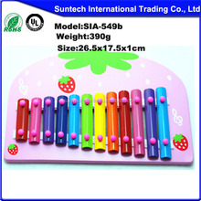 Musical Toy Style and Rubber Wood,Wood Material Xylophone