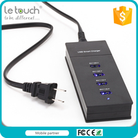 Letouch Brand Eversible USB Smart charger Station usb charger for iphone 6