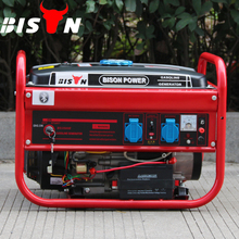 BISON China Taizhou BS4500K Hot Sale New Type Fast Delivery 1 Year Warranty 3kw to 3.5kw Daishin Gasoline Generator