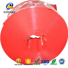 For Water System Large Diameter Colored Plastic PVC lay flat hose