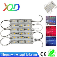 Shenzhen XQD Factory led products 8617 led module 5050 smd led module, 0.72Watt for letter channel lighting