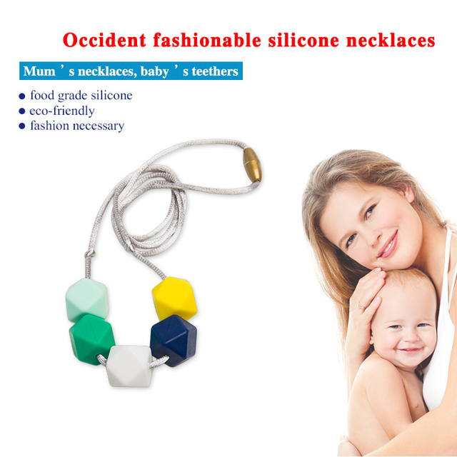 Wholesale custom fashionable new design beaded family necklace for mom