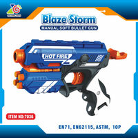 hot sale soft gun toys best price blue pistols for sale/plastic airsoft realistic toy guns pistols import toys from china