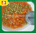 Canned Green Peas & Crrot