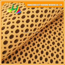 polyester fiber 3D mesh,3D air layer fabric, good permeability,pollution-free
