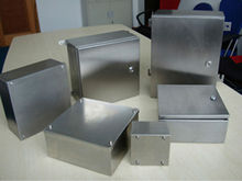 OEM small stainless steel sheet metal box