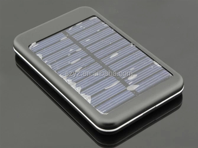 Hiigh Efficient Solar Power Bank,10000mAh Solar Charger for mobile phones/tablet PC/other electronics
