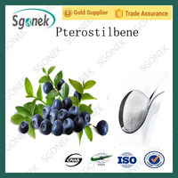 Factory Supply Blueberry Pterostilbene Extract Blueberry Powder CAS/537-42-8