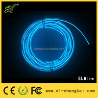 Hot Sale diameters 3.2mm,1m 2m 3m long ICE Blue EL Wire,flexible neon el wire,multi color electroluminescent wire