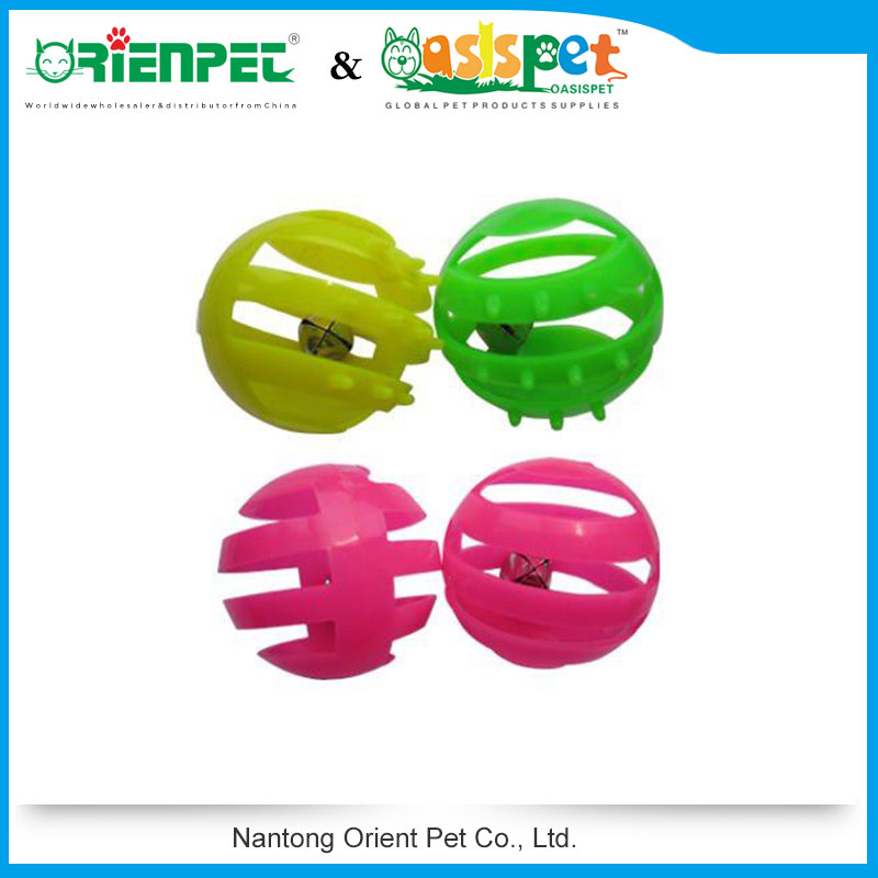 ORIENPET & OASISPET Cat plastic ball with bell Cat toy Ready stocks OPT41129 Pet products
