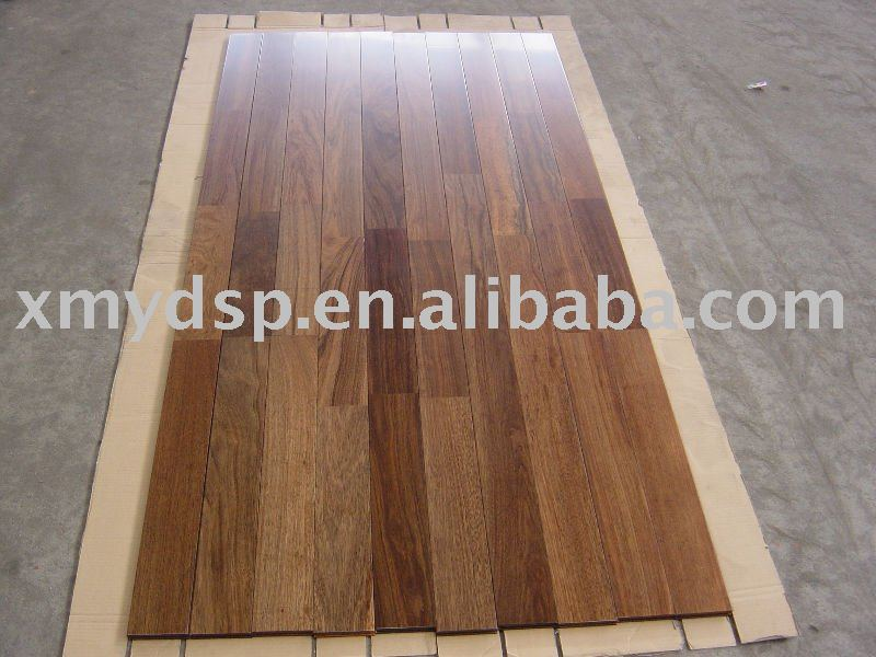 Walnut Finger-jointed wood floor