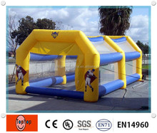 100% air sealed Giant Durable PVC tarpaulin baseball Inflatable Batting Cages for sports games