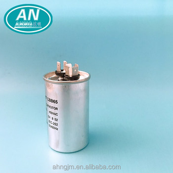 450VAC aluminum shell facon capacitor for 0.5 hp motor,japanese led tube rebycon capacitor