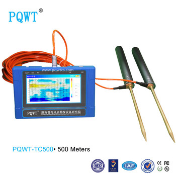CCTV Recommend High Quality & Accuracy Underground Water Survey Equipment PQWT-TC500