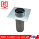 Manufacturer Round Roof Jack Flashing Galvanize Steel Tube Connector Flashing
