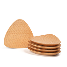 Hotel Food Fruit Sushi Wooden Unbreakable Serving Dishes <strong>Plates</strong>
