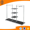 fashion clothes display stand/coat shop rack/shop clothes rack