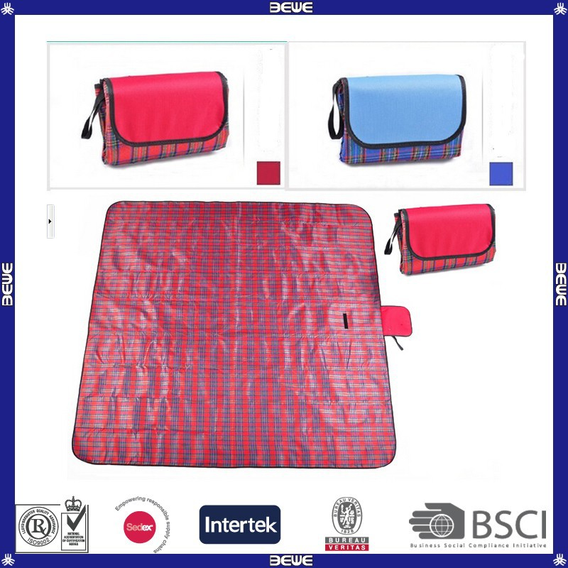 various material providing dilated extra strong folding waterproof customized good quality acrylon+PE subface picnic mat
