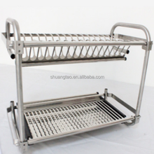 Decorative dish rack kitchen unique dish rack , stainless steel dish dry rack/metal dishwasher Made in guangzhou