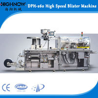 DPH-260 Automatic Capsule/Tablet Blister Packing Machine
