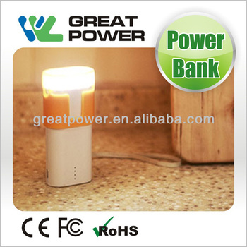 2014 new design 5200mAh power bank CE&ROHS