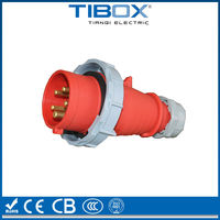 IP67 Male and female industrial electrical connector plug