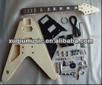Diy Fly V Electric Guitar KIts/Left Hand