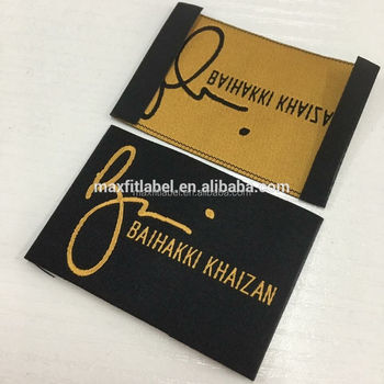 Custom Hot Hales High Quality Washable Woven Labels For Garments