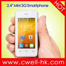 2.4 Inch Touch Screen Dual Core 3G Android Mini Smartphone Melrose S9 Mini Cell Phone