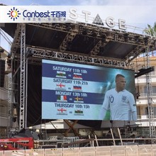 Long Service Life High Resolution Large Rental Screen China LED Outdoor Display for Stage