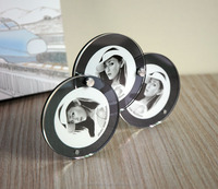 Creative Decoration Mini Acylic Round Picture Photo Display Stand