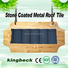 metal roofing supplies corrugated roofing sheets Roman Stone Coated Metal Roof Tile