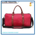 Red Polyester Sports & Leisure Bags with Shoe Compartment