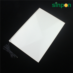 Low power consumption dark place lighting 1200*300 led backlight panel