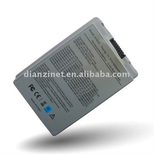 Brand New Li-ion Battery Replacement for the Original Battery of Apple M9422 M9677HK/A PowerBook G4 15 M9676* Serials