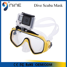 China diving mask underwater glasses for GoPro sports camera
