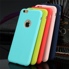 Candy Color Phone Case For iPhone 6 6S cellphone case