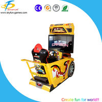 SKYFUN amusement supplier coin acceptor arcade game machine,adult racing games,park raing cars