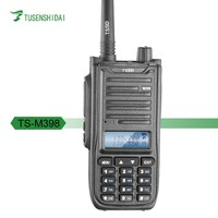Long Range 20KM Dual Band digital TYT TS-M398 Ham mobile walkie talkie with FM Transceiver Portable Two Way Radio