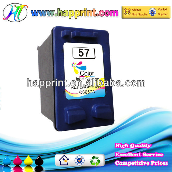 For HP 57 refillable ink cartridge C6657A