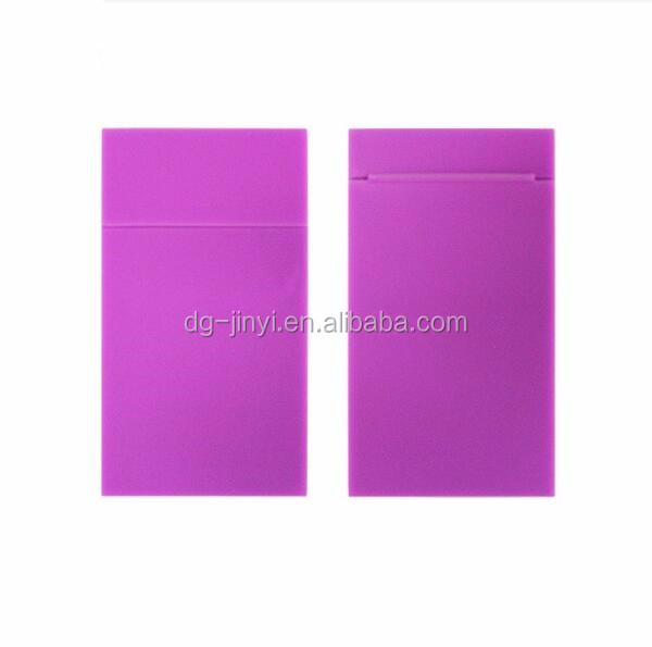 Silicone cigarette cases 100mm slim cigarette case