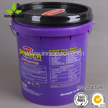 17 18 liter cheap plastic bucket with tamper proof lid
