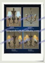 2012 Five Star Hotel chandelier electrical light parts
