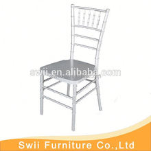 High quality original ice chair ballroom resin tiffany chair with pad