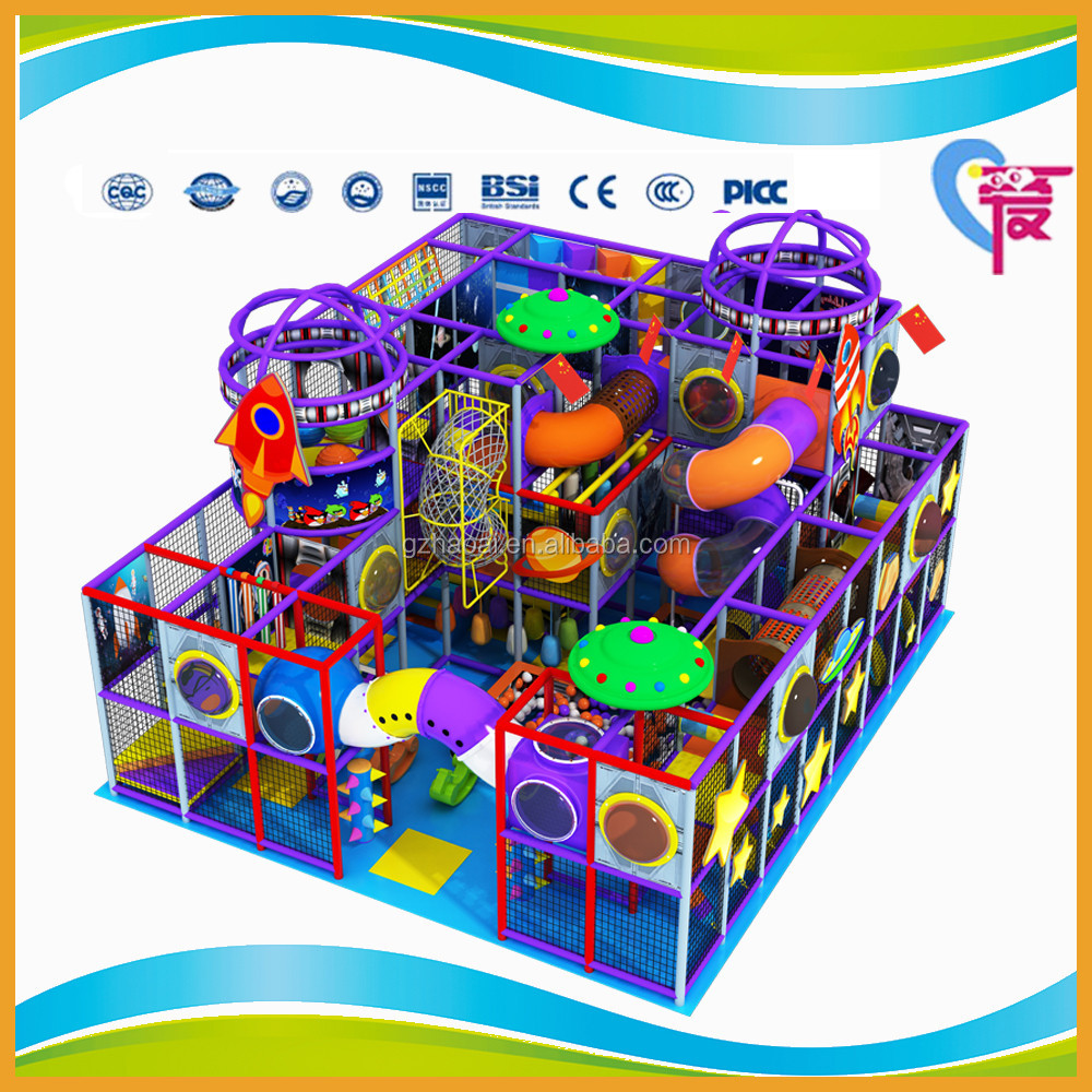 A-15301 CE Standard Best Price Outer Space Theme Amusement Park Equipment Kids Indoor Playground