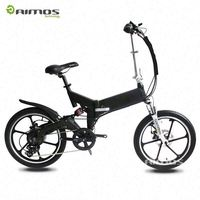 "Made in China 14"" Carton steel frame mini portable folding electric bike"