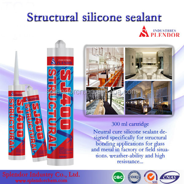clear structural silicone sealant/curtain wall silicone glass sealants/silicone rubber