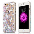 Glitter Stars Dynamic Liquid Cartoon Unicorn Cover For iphone 6 7 7 plus Case For iphone 6S 6 Plus Phone Cases Capa Coque Fundas